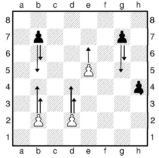 Как ходит шахматная пешка