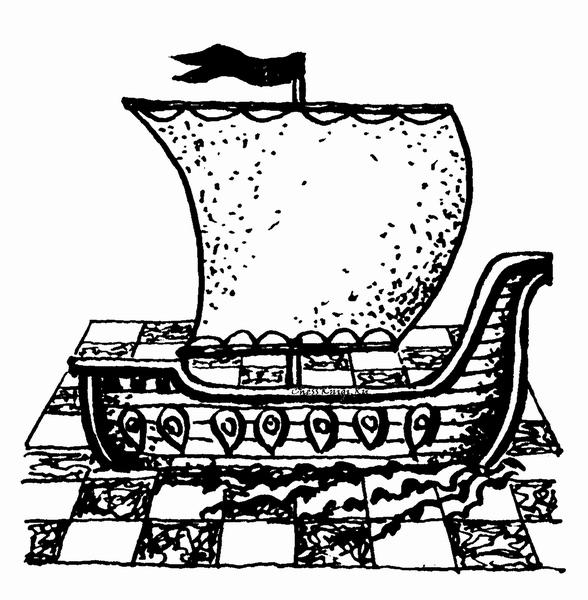 Шахматная ладья - корабль