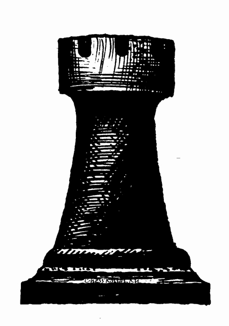 Черно белая картинка шахматы